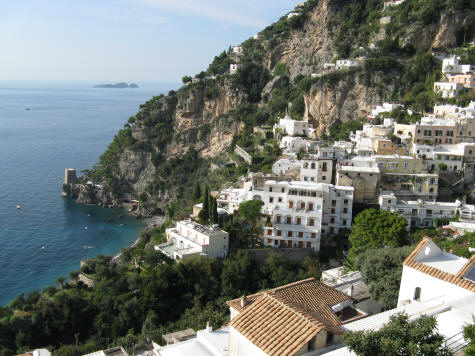 Amalfi Coast at Positano Italy